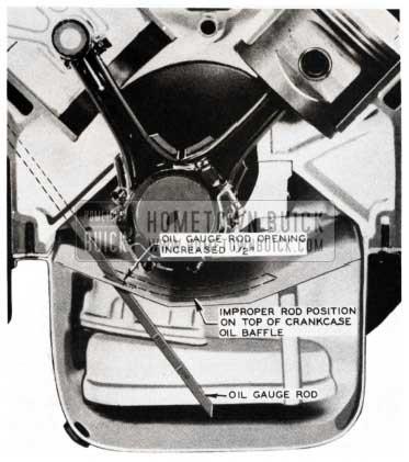 1953 Buick Crankshaft Oil Baffle