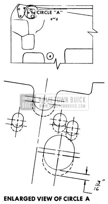 1953 Buick Door Inner Panel