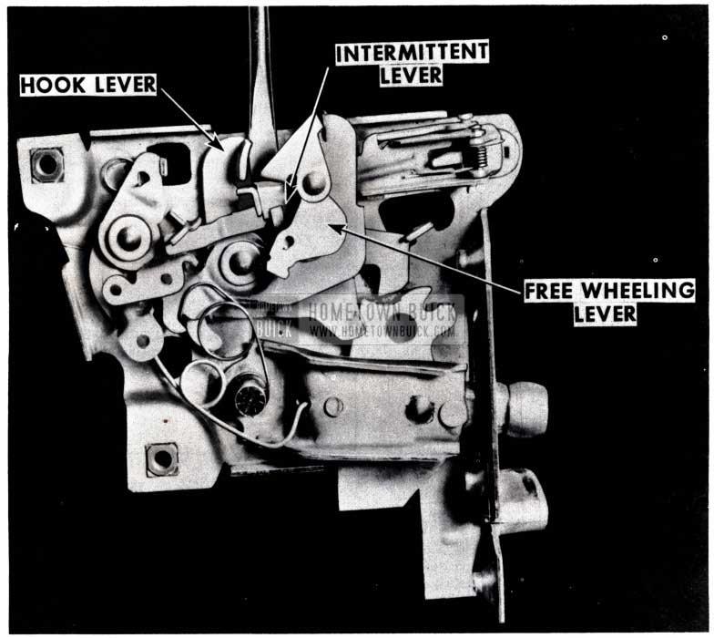 1953 Buick Door Lock Rework