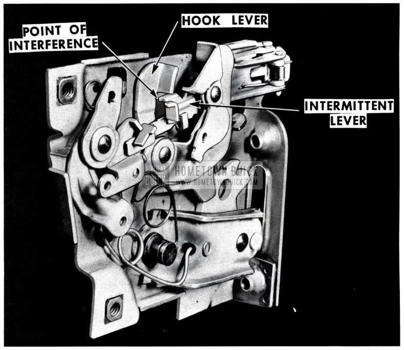 1953 Buick Door Lock