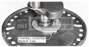 1953 Buick Flywheel Counterweight Cam