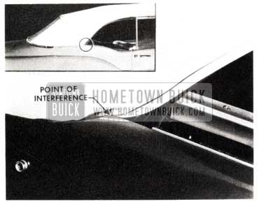 1953 Buick Folding Top Interference