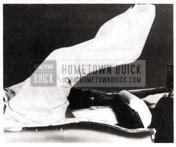 1953 Buick Folding Top Lowering