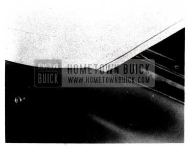 1953 Buick Folding Top Material Installed