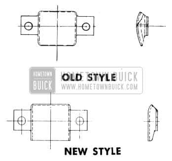 1953 Buick Hood Guide Roller Pad
