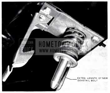 1953 Buick Hood Latch