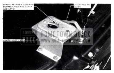 1953 Buick Hood Release Lever