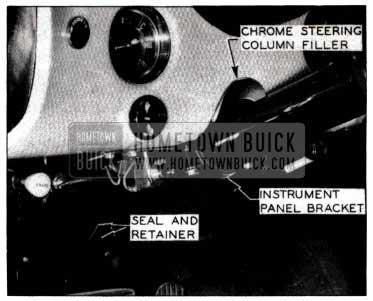 1953 Buick Lower Steering Wheel
