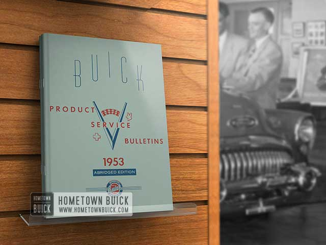 1953 Buick Product Service Bulletins