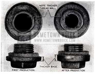 1953 Buick Rear Axle Filler Plug