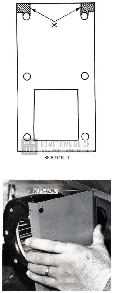 1953 Buick Reinstall Blower Assembly