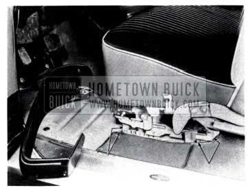 1953 Buick Remove Seat Adjuster to Floor Pan