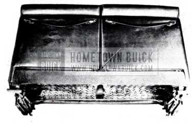 1953 Buick Remove Seat Back Panel Assemblies