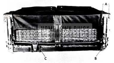 1953 Buick Remove Seat Backs