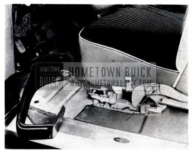 1953 Buick Remove Seat Cotter Pin