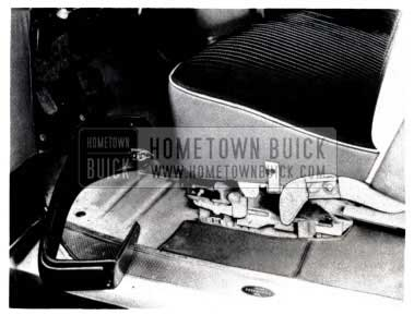 1953 Buick Remove Seat Side Panel Assemblies
