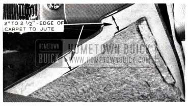 1953 Buick Replace Carpet