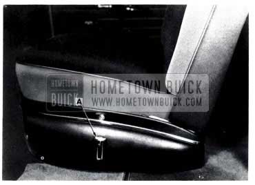 1953 Buick Seat Adjusters