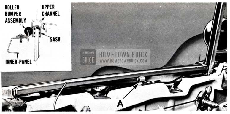 1953 Buick Skylark Window Sash Upper Channel Installation