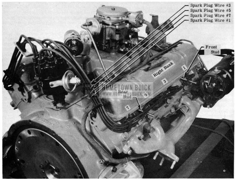 1953 Buick Spark Plug Wires