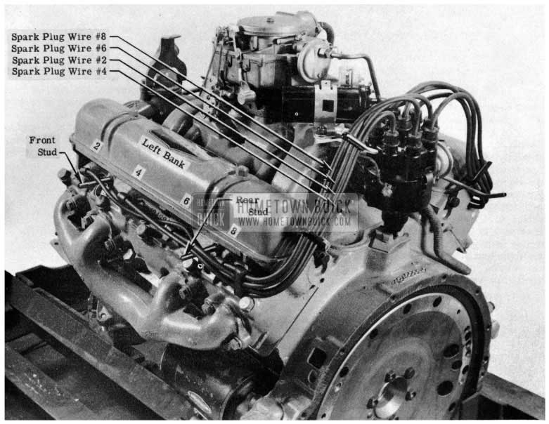 1953 Buick Spark Plug Wiring