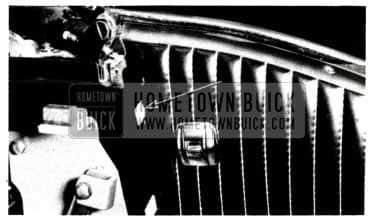 1953 Buick Trim Panel Upper Retaining Bracket