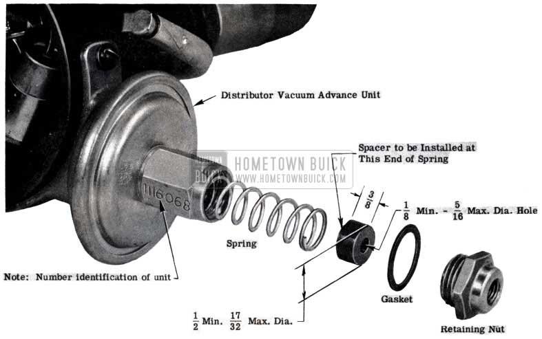1953 Buick Vacuum Advance