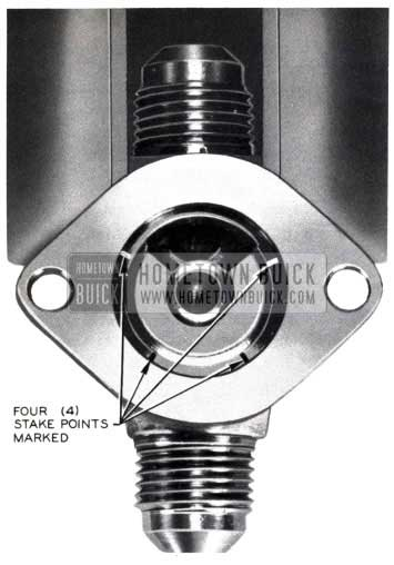 1953 Buick Valve Body Stake Points