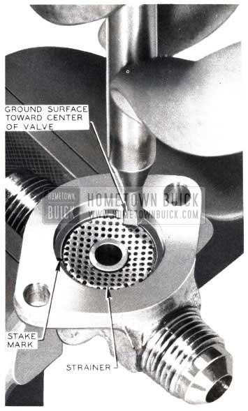 1953 Buick Valve Body Strainer