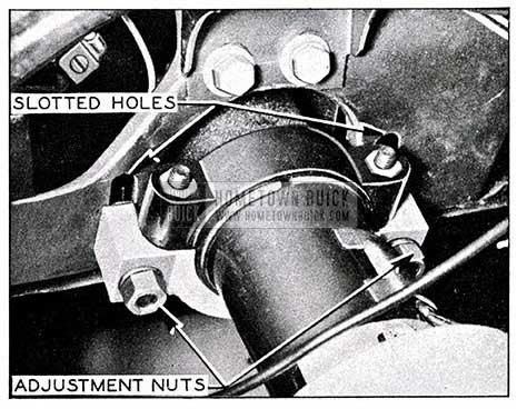 1954 Buick Adjustment for Steering Wheel Height