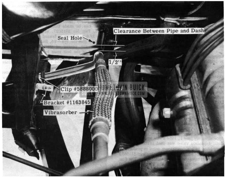 1954 Buick Air Conditioner Vibrasorber