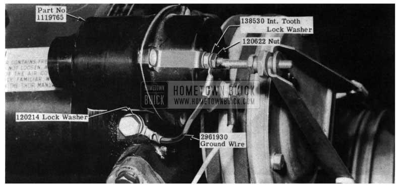 1954 Buick Compressor Clutch Selenoid