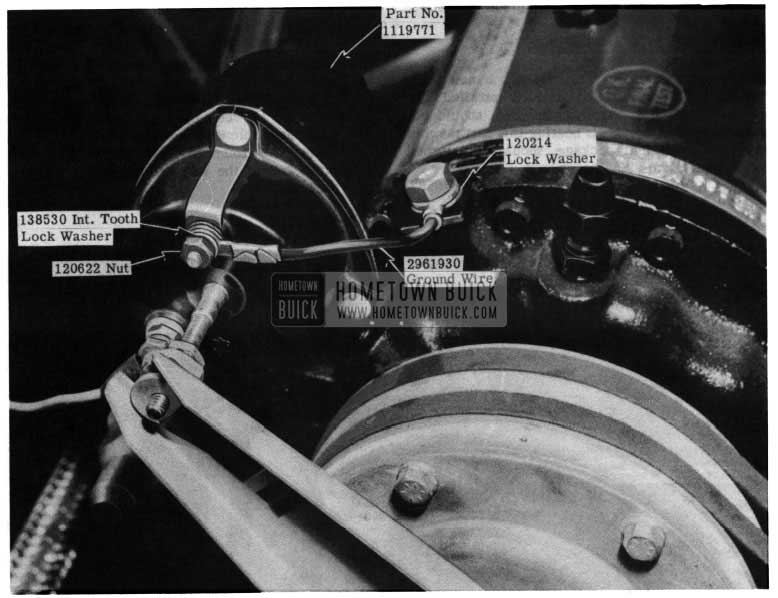 1954 Buick Compressor Lock Washer