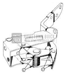 1954 Buick Door Hinge Lubrication