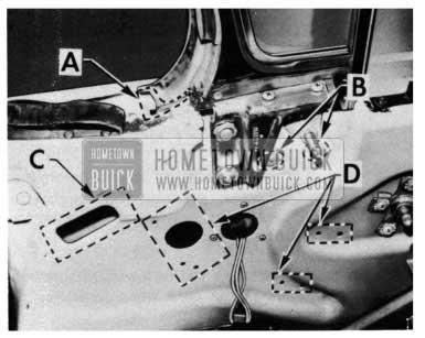 1954 Buick Door Sealing