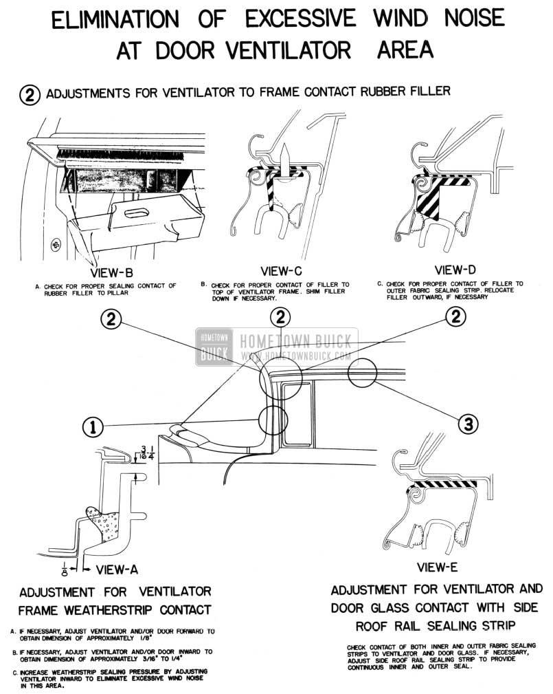 1954 Buick Door Ventilator