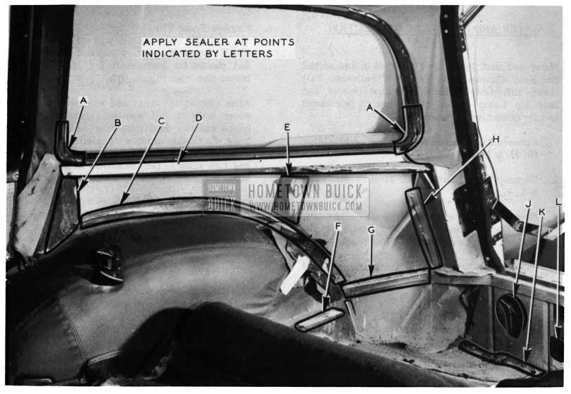 1954 Buick Estate Wagon Inner View