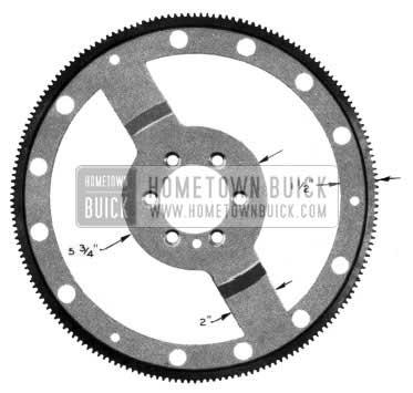 1954 Buick Flywheel