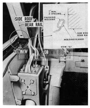 1954 Buick Folding Top Hinge