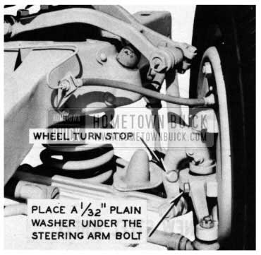 1954 Buick Front Tires Rubbing on Frame