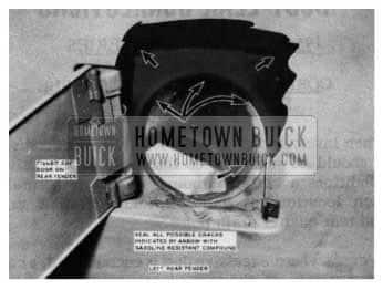 1954 Buick Gas Door