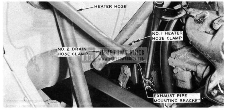 1954 Buick Heater Hose
