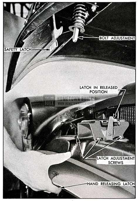 1954 Buick Hood Latch