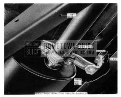 1954 Buick Muffler Support