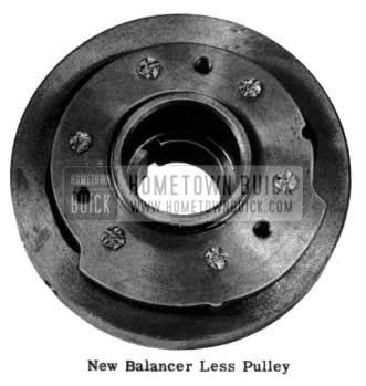 1954 Buick New Balancer Less Pulley