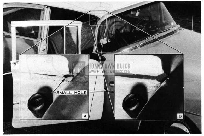 1954 Buick Noise Elimination at Door Ventilator