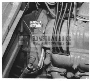 1954 Buick Oil Line