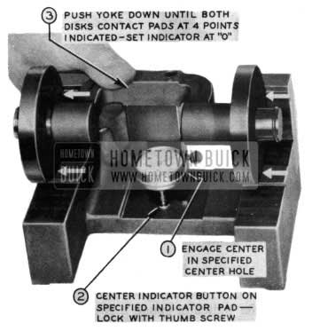 1954 Buick Pinion Setting Center Indicator Gauge