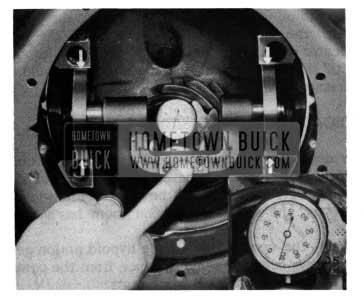 1954 Buick Pinion Setting Indicator Gauge Measurements