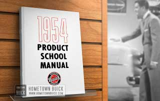 1954 Buick Product School Manual